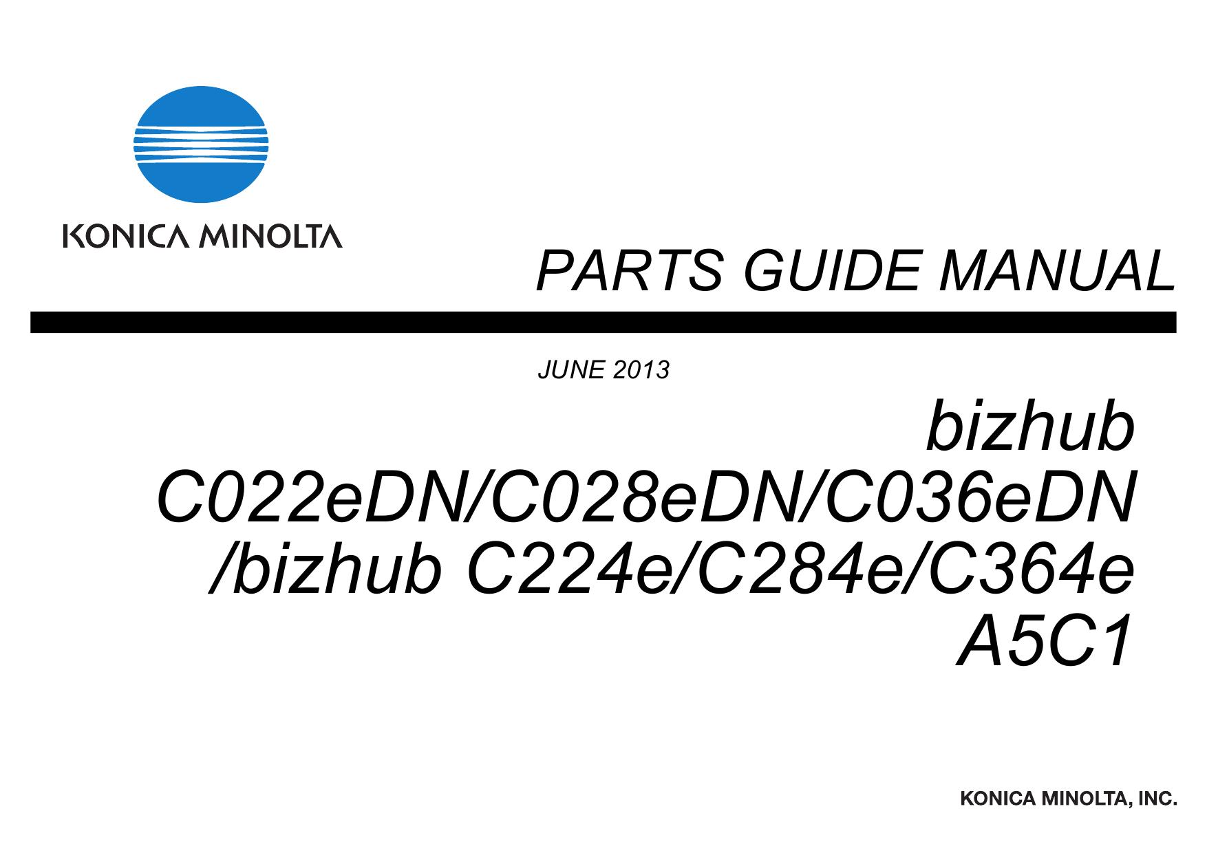 Konica minolta bizhub 364e manual